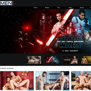 Men.com premium porn network